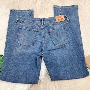 Levi's 505 Straight Light wash jeans D1453